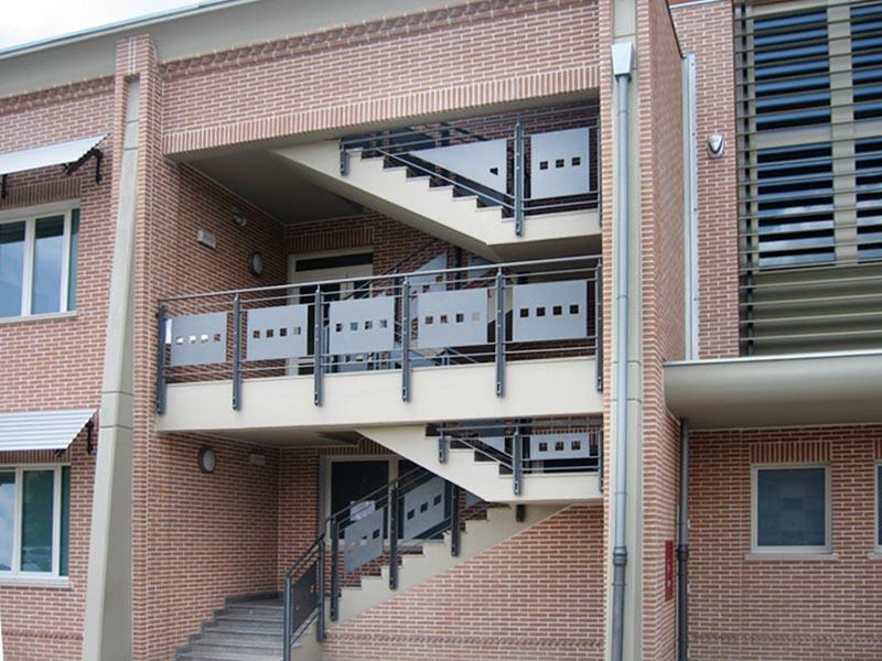 Scale da esterno sifer - Scale da esterno in muratura ...